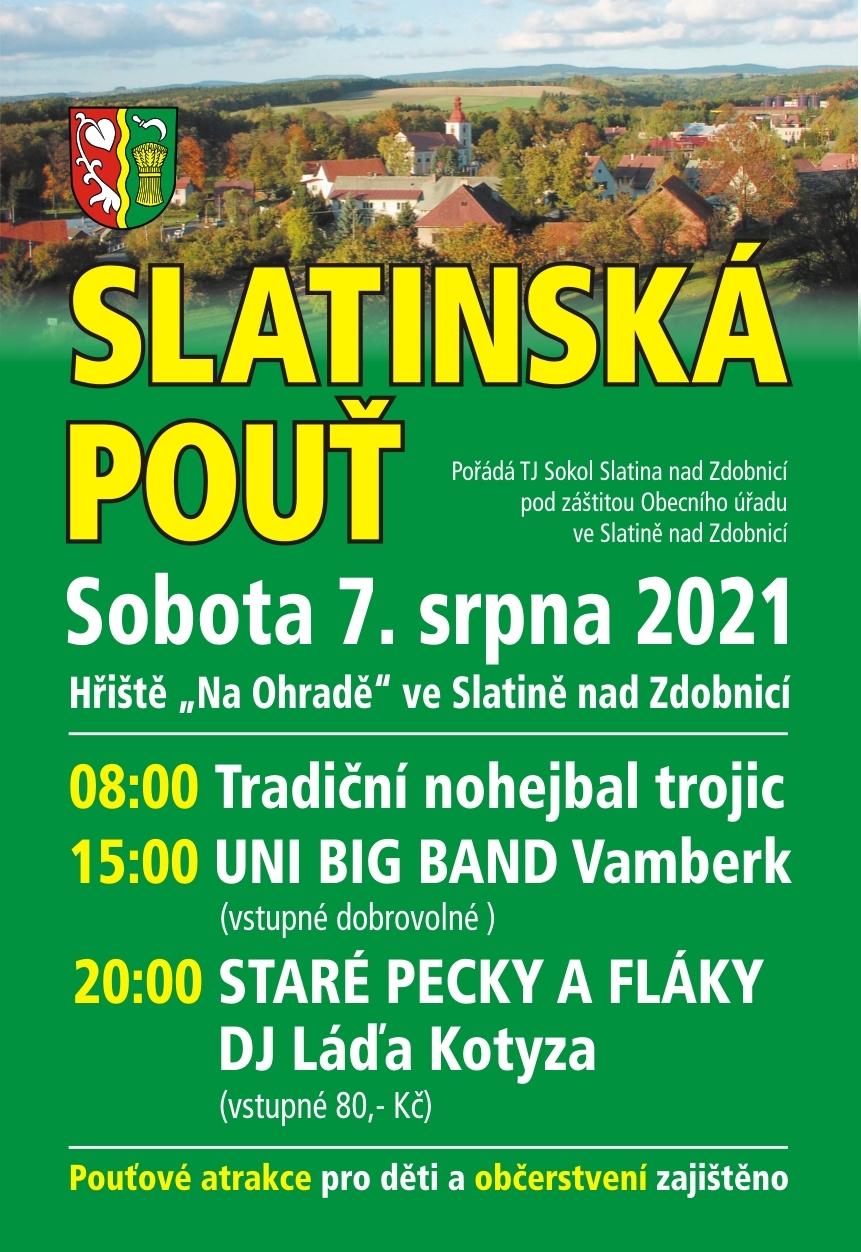 Slatinská pouť 2021